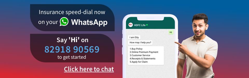 HDFC Life WhatsApp Etty Bot